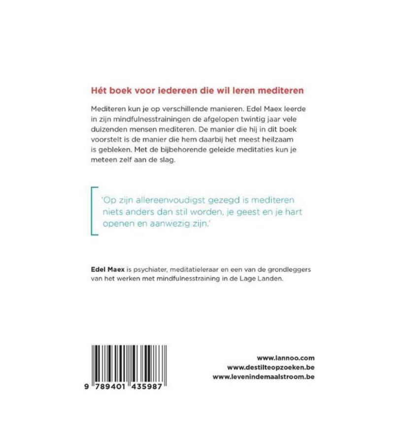 Boek - Leren mediteren-2