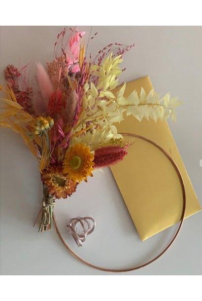 DIY Floral Hoop Mini