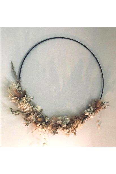 Floral Hoop Medium