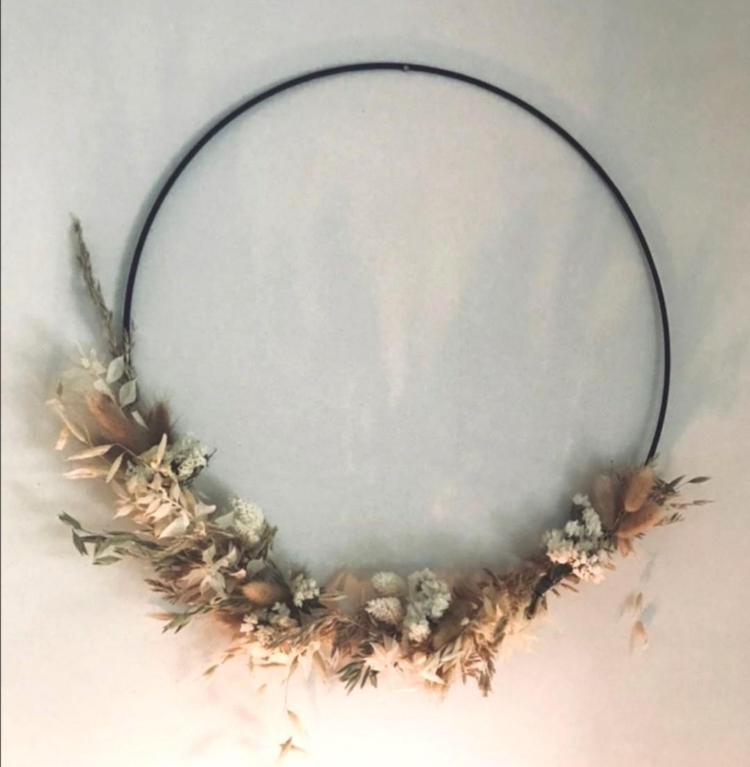 Floral Hoop Medium-1