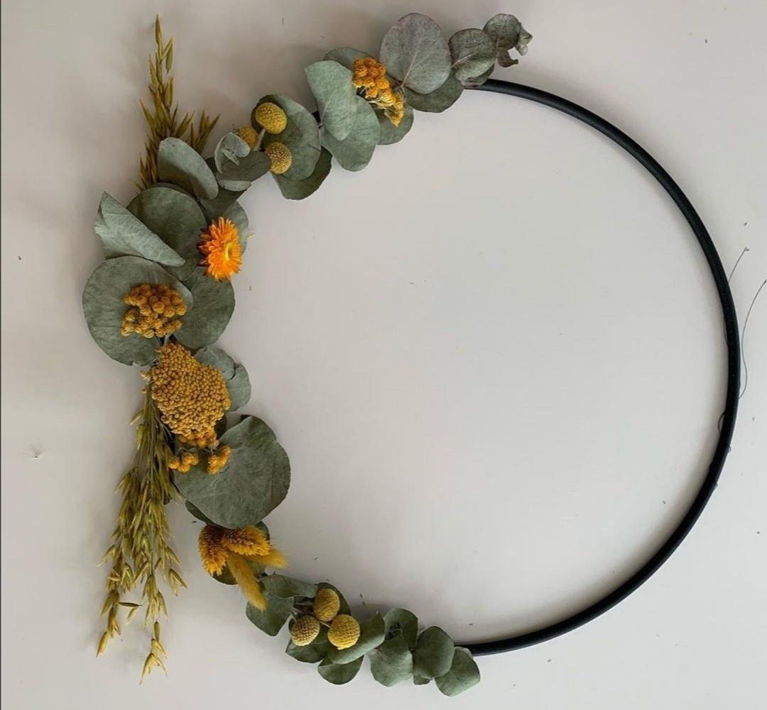 Floral Hoop Medium-2