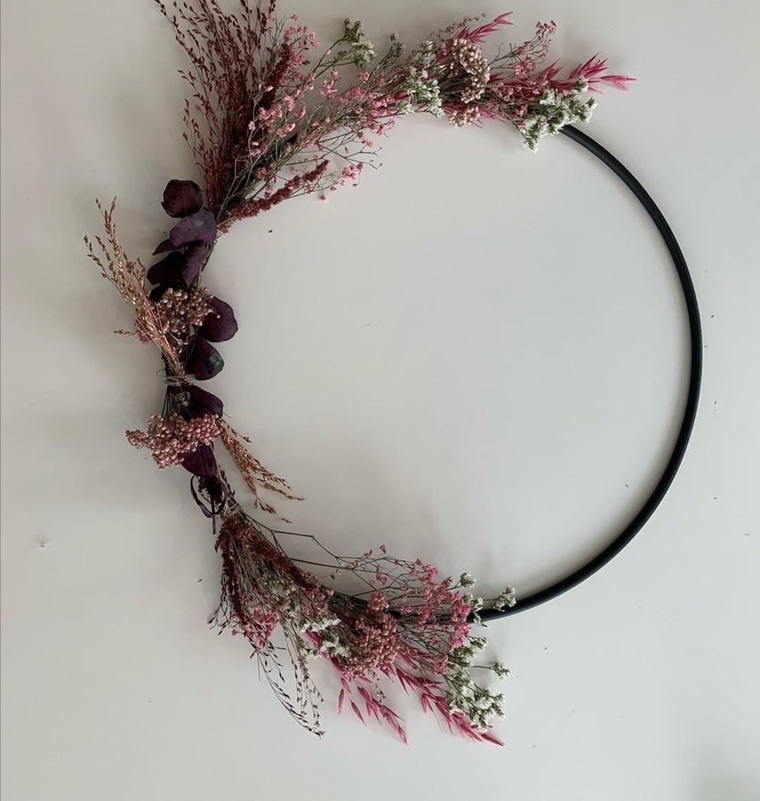 Floral Hoop Medium-3