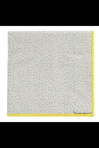 Napkins Green & Yellow