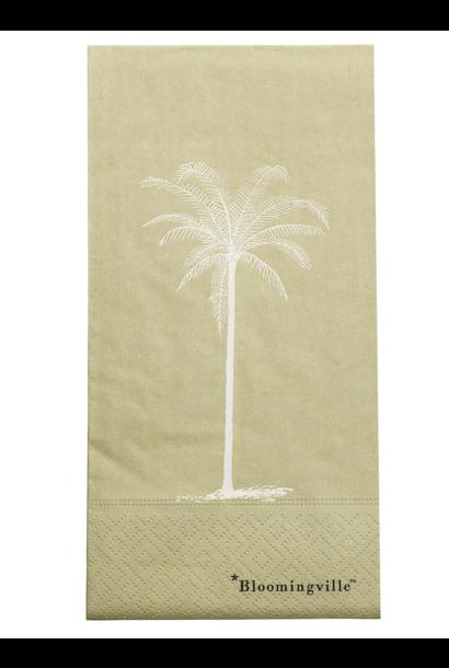 Servet Palmboom Groen