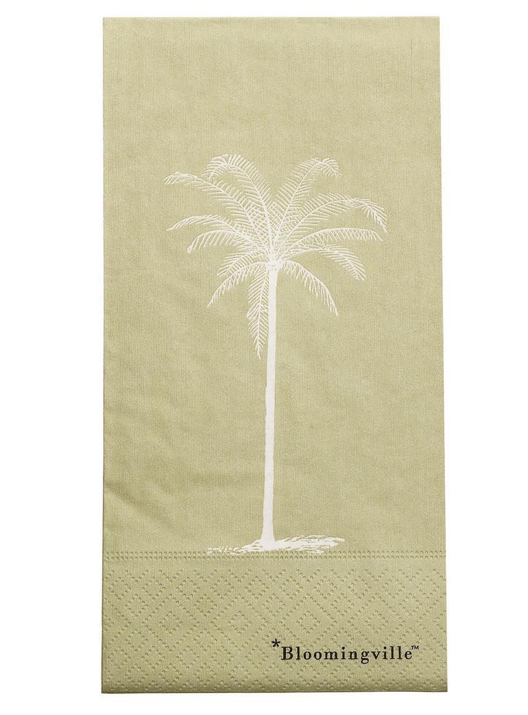 Servetten Palmboom Groen-1
