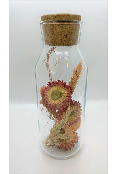 Bloemengeluk In Flesje Koraal - Large
