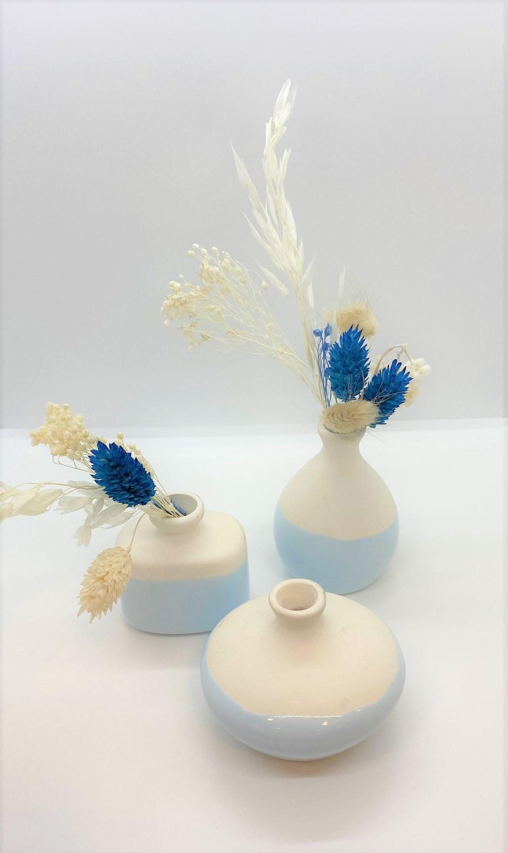 Mini Droogboeket Blauw - Atelier Olala-2