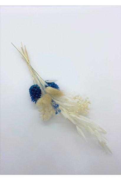 Mini Droogboeketje Blauw