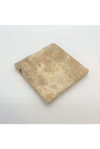 Stone Coaster Sand Color - Quadrangle
