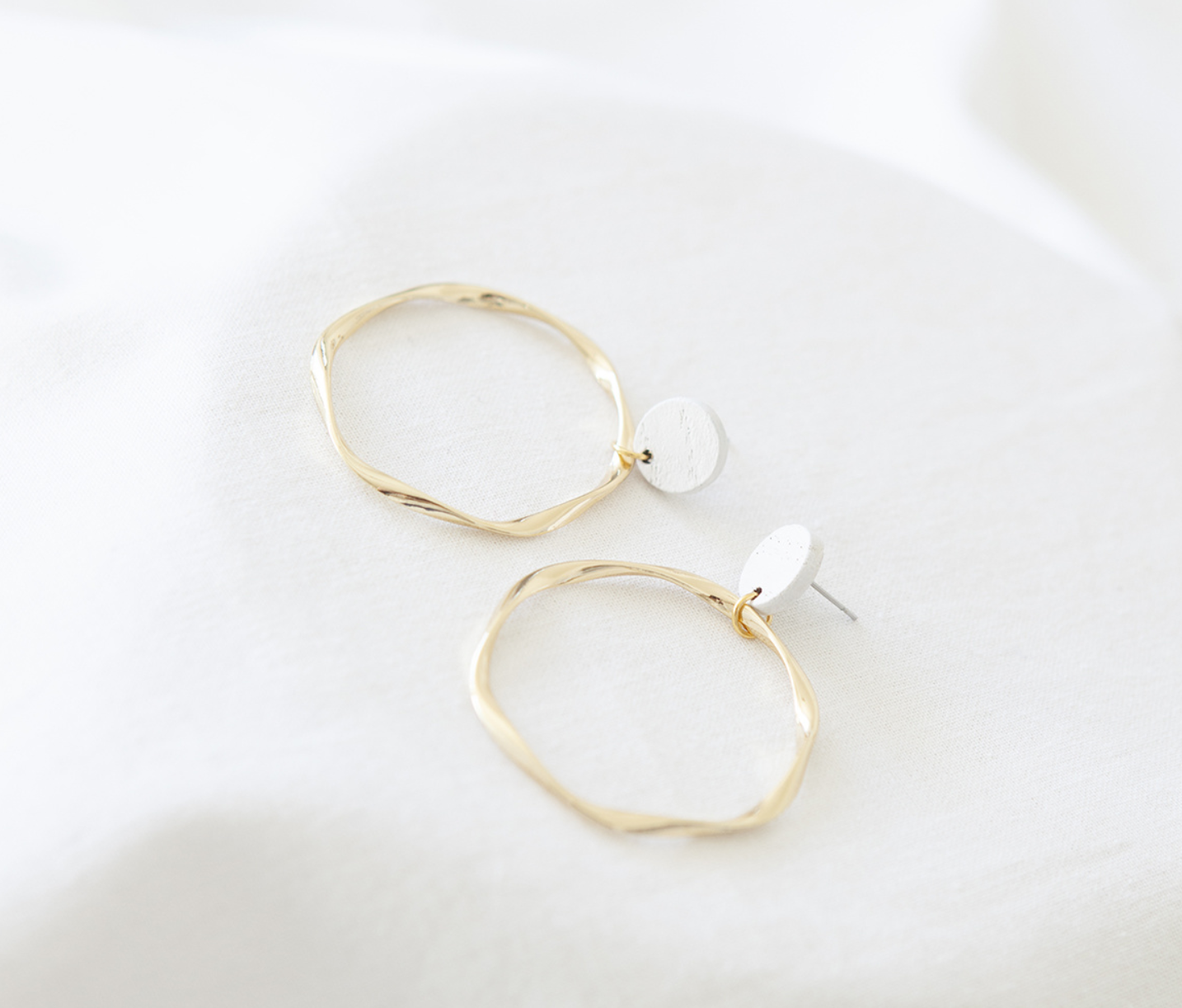 Oorbellen Wit - Hope Together 02-2