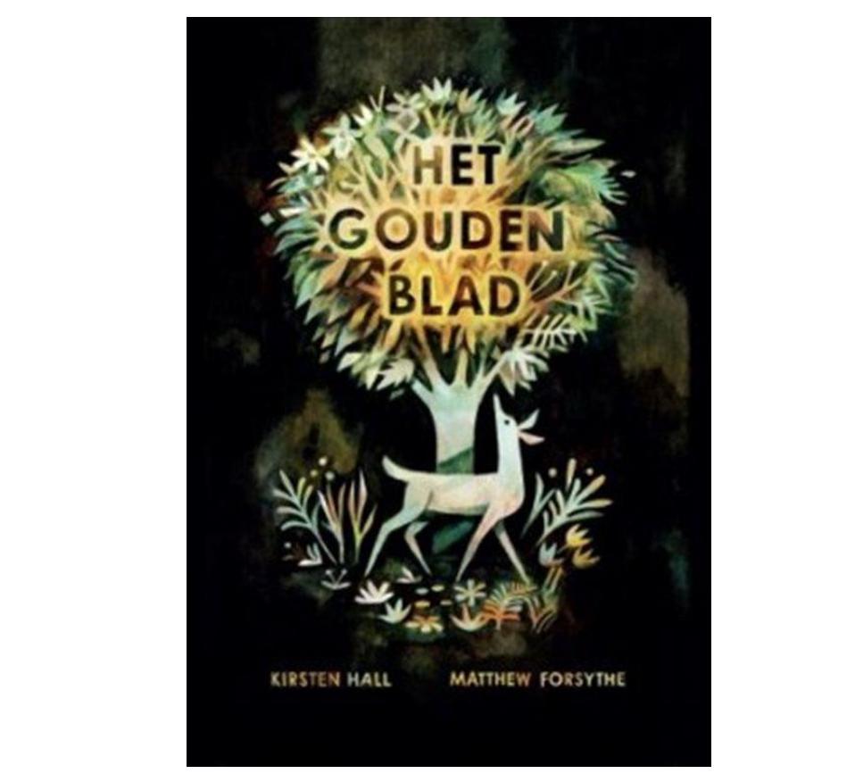 Boek - Het gouden blad - Kirsten Hall-1
