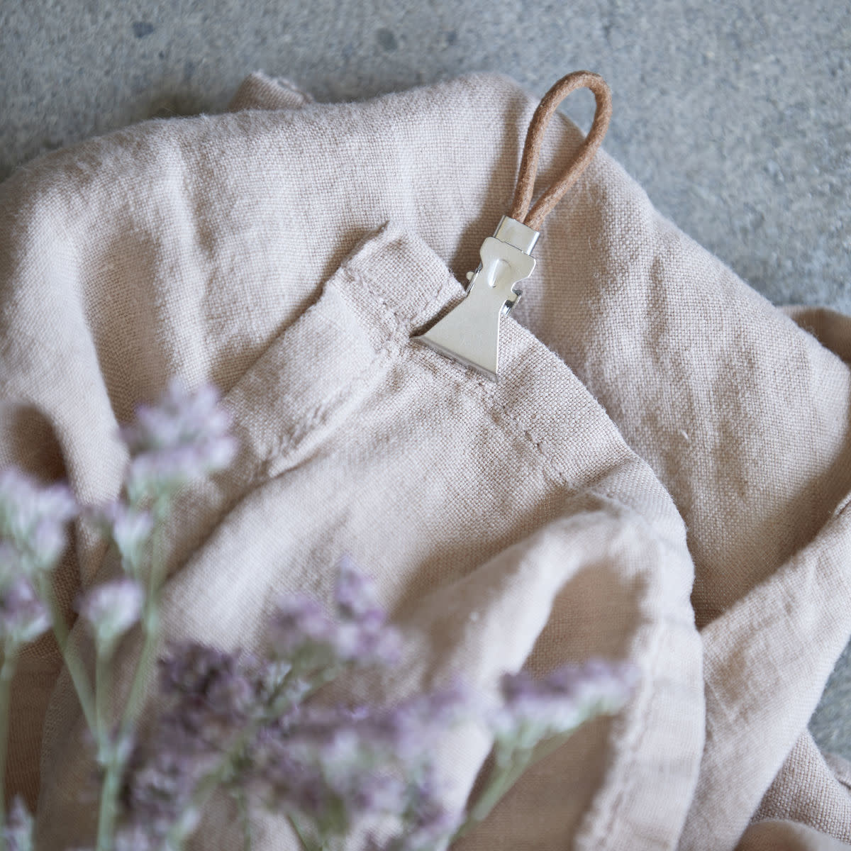 Handdoek Clips Leer-2
