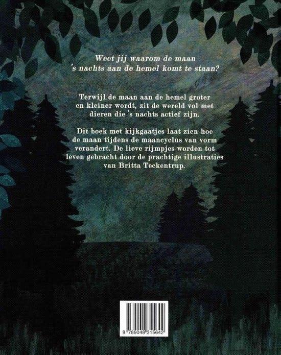 Boek In De Maneschijn - Britta Teckentrup-2