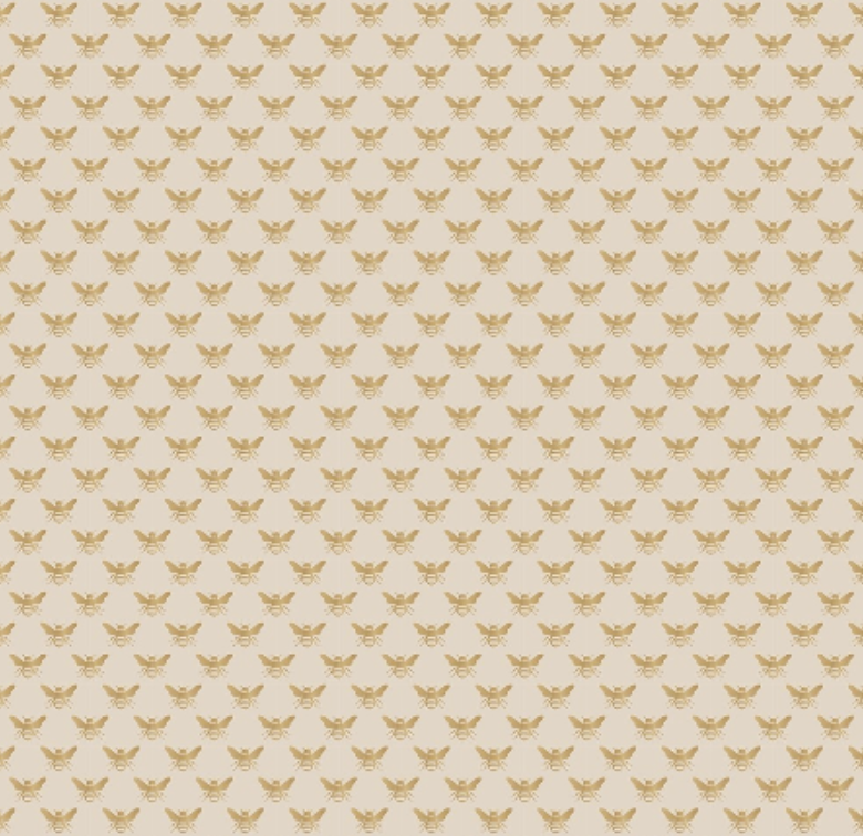 Inpakpapier Gold Bee-1