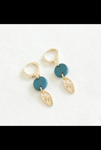 Earrings Blue - Vitamin Sea 05