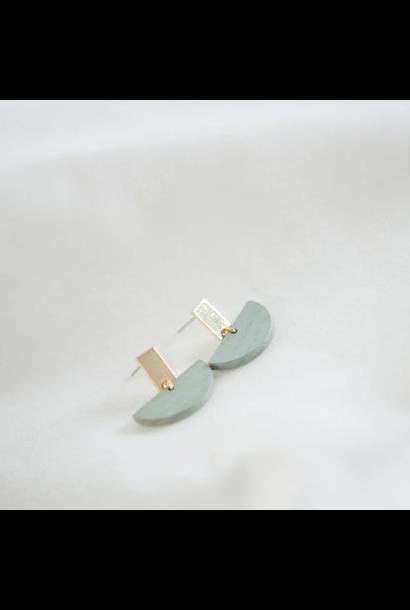 Oorbellen Pastelblauw - Pastel Power 16