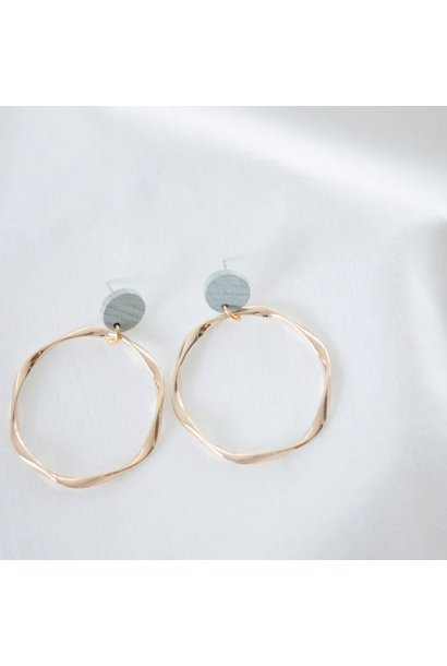 Pastel Blue Earrings - Pastel Power 13