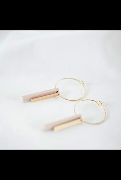 Pastel Pink Earrings - Pastel Power 15