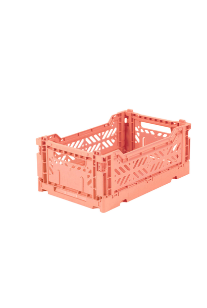Folding Crate Salmon Pink - Small