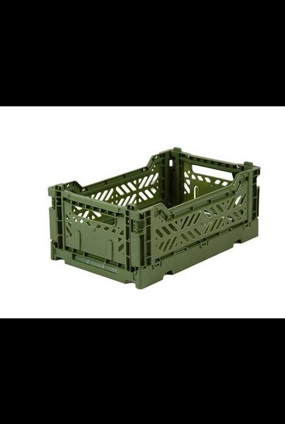 Folding Crate Khaki - Small