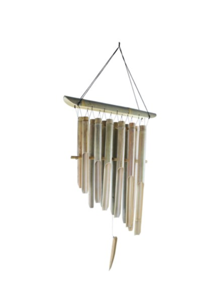 Wind Chime Natural Bamboo