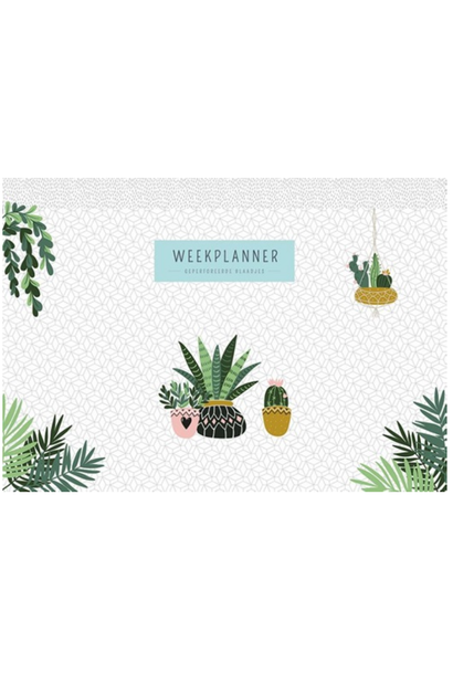 Weekplanner Houseplants