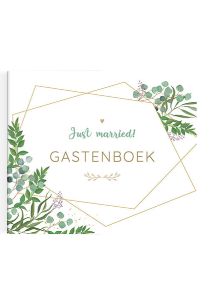 Just Married Gastenboek