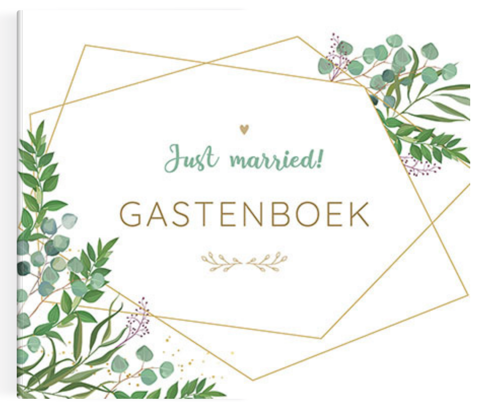 Just Married Gastenboek-1