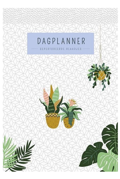 Dagplanner Houseplants