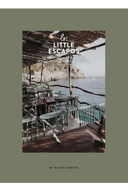 Boek - Los Little Escapos 208 Slaaptips & Eetadressen in Spanje