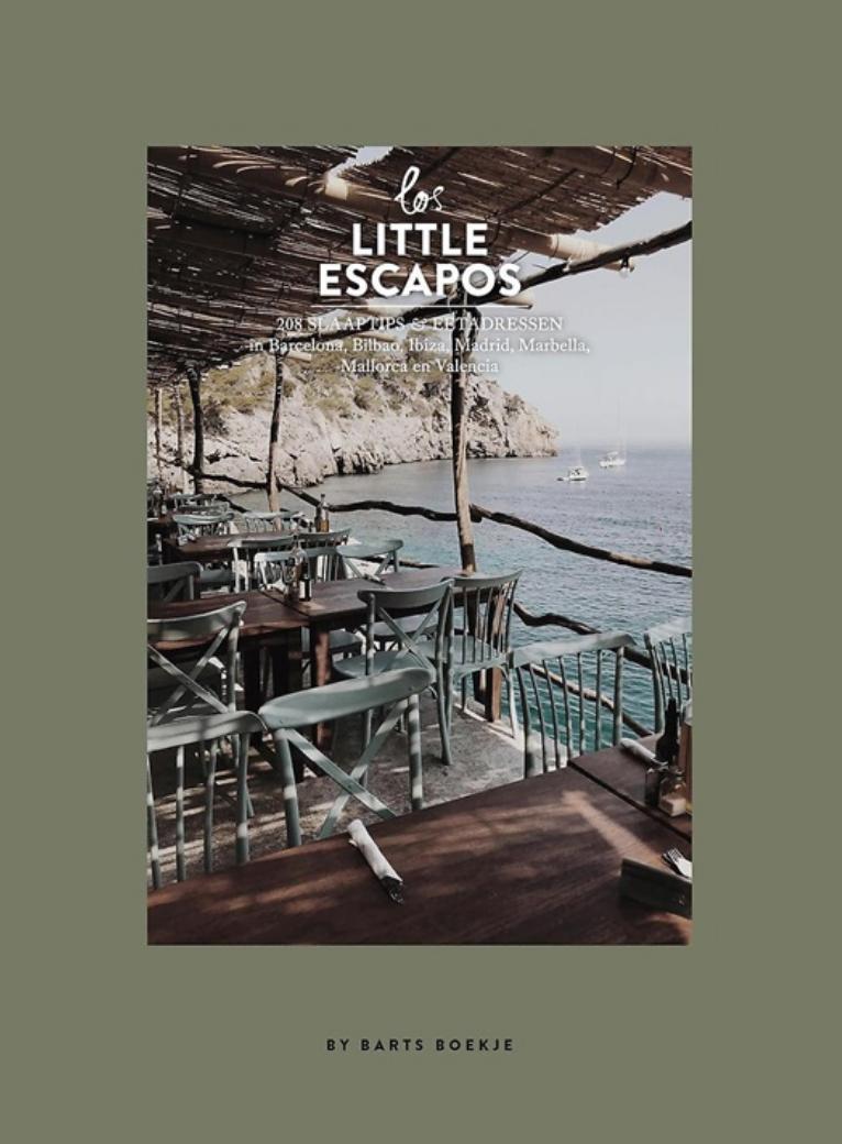 Boek - Los Little Escapos 208 Slaaptips & Eetadressen in Spanje - Spectrum-1