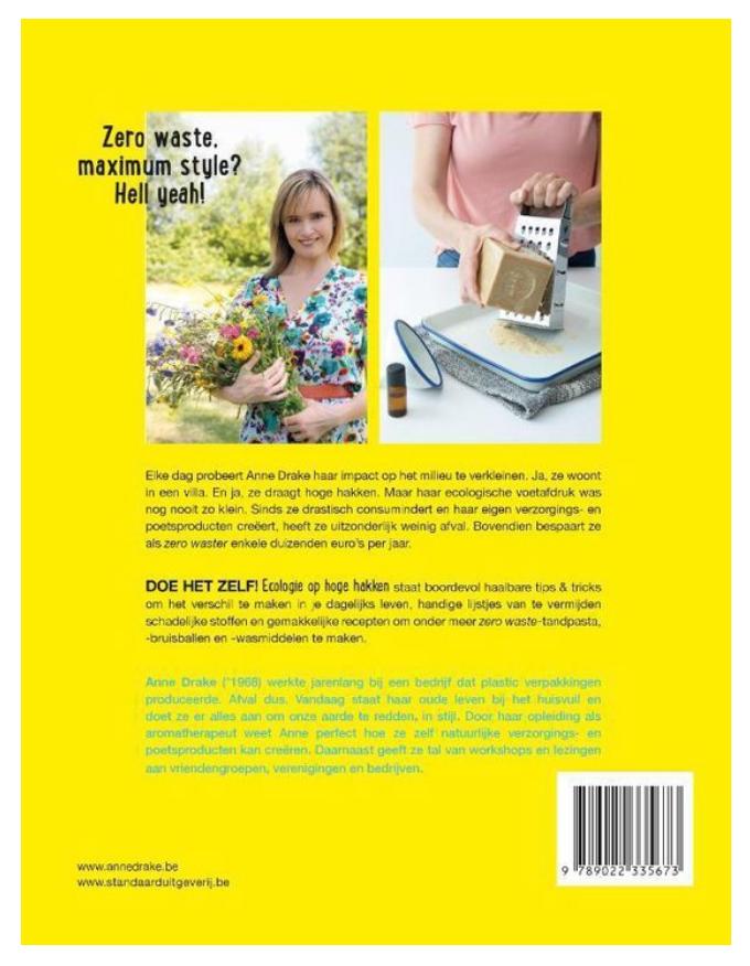 Boek - Ecologie op hoge hakken - Anne Drake-2