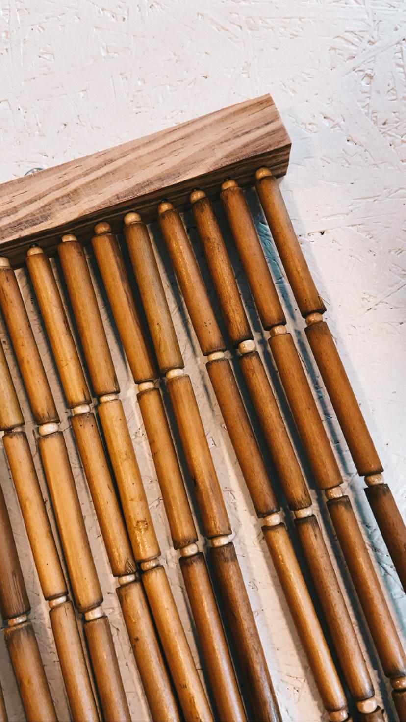 Natuurlijk Bamboo Deurgordijn - Bloomingville-1