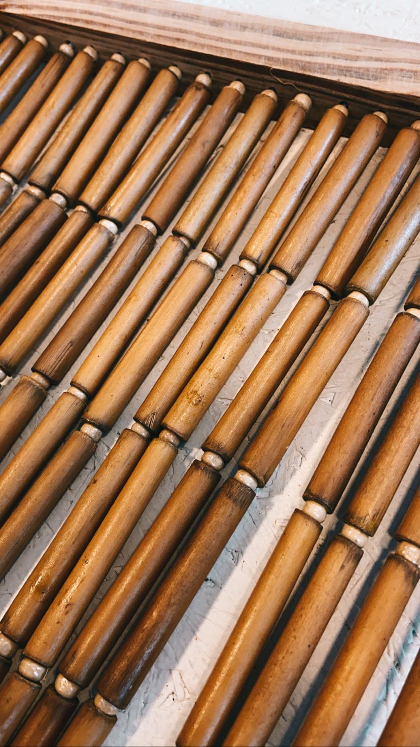 Natuurlijk Bamboo Deurgordijn - Bloomingville-2