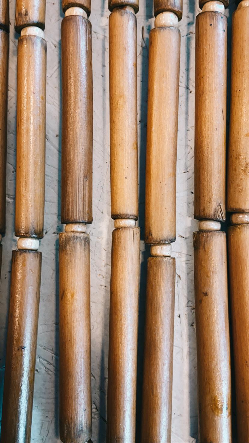 Natuurlijk Bamboo Deurgordijn - Bloomingville-3