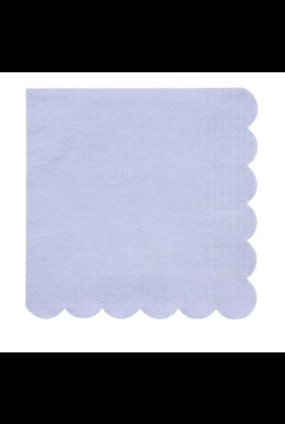 Servetten Pastelblauw