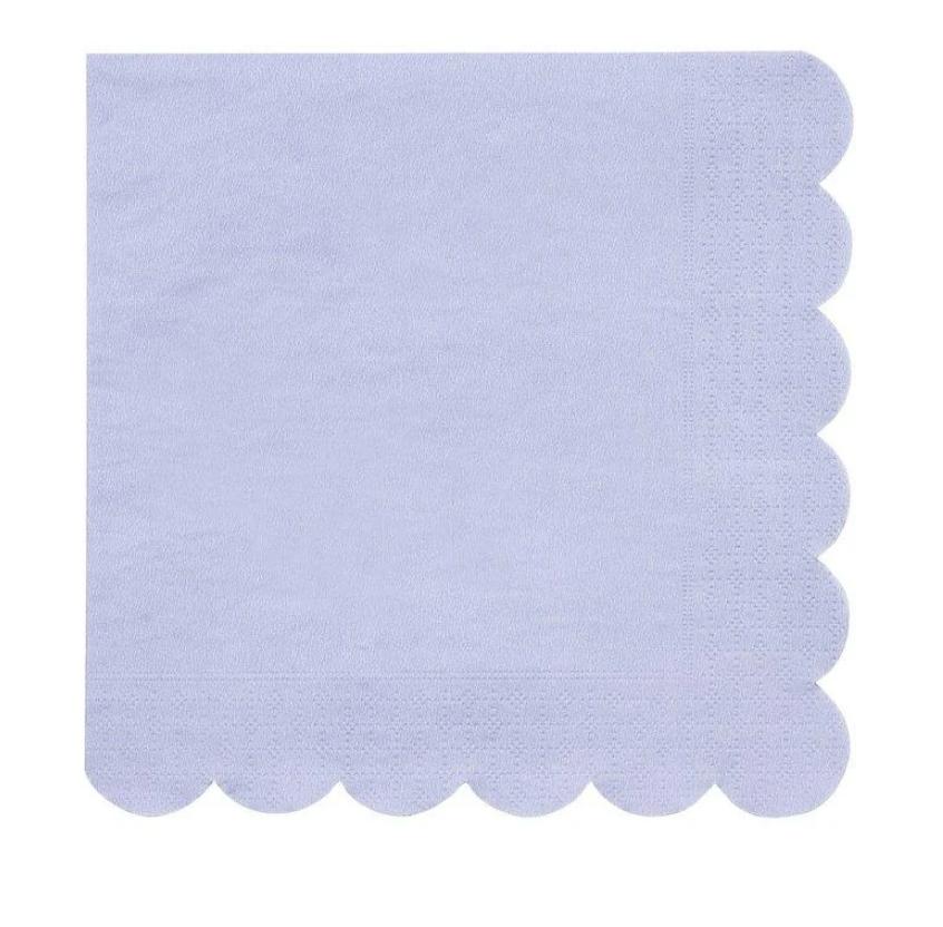 Servetten Pastelblauw-1