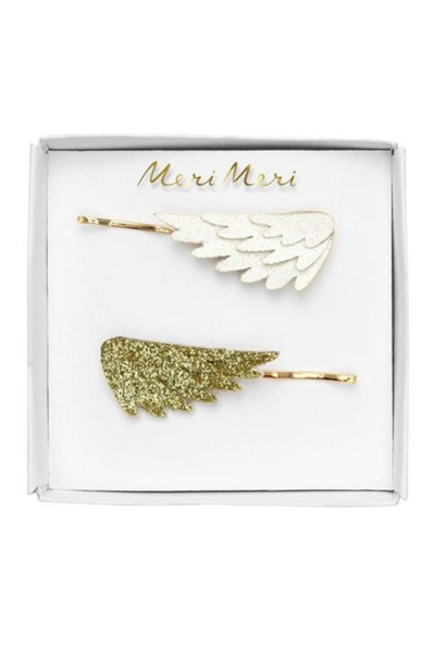 Haarpinnen Glitter vleugels