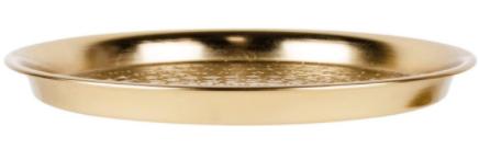Gouden Metalen Dienblad-3