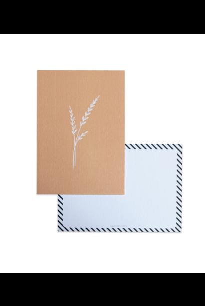 Botanical Card Ocher