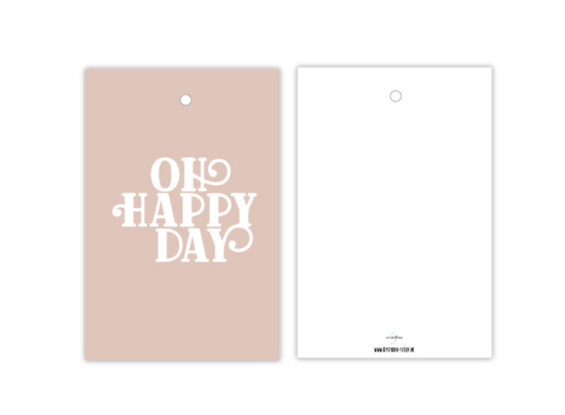 Cadeaulabel Oh Happy Day-1
