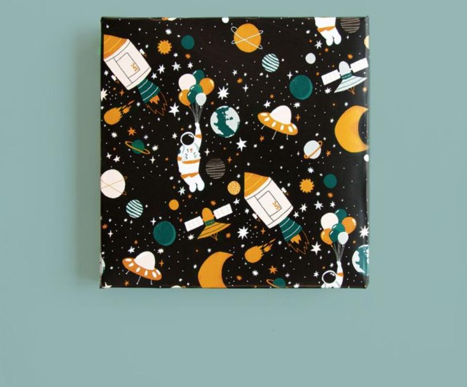 Inpakpapier Space-2