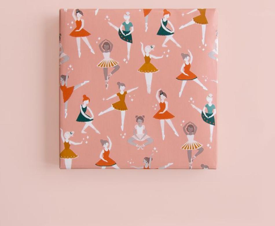 Inpakpapier Ballet-3