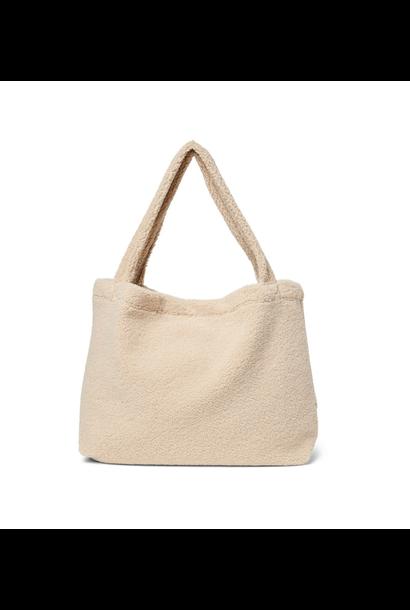 Mom-Bag Chunky Teddy Ecru
