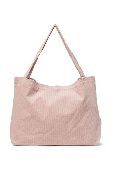 Mom-Bag Rib Dust Pink