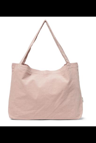 Mom-Bag Rib Dusty Pink