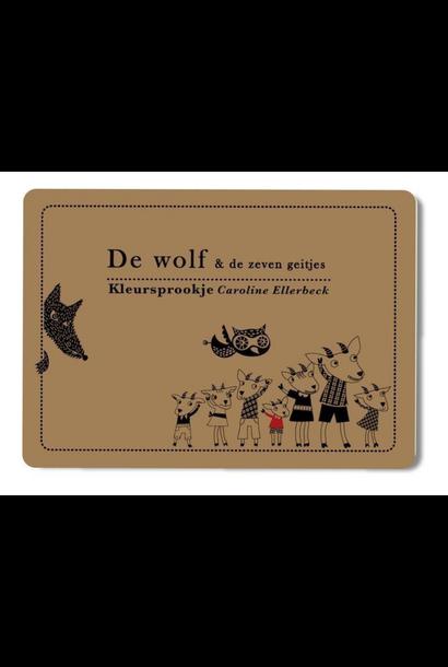 Kleursprookje De Wolf & De Zeven Geitjes