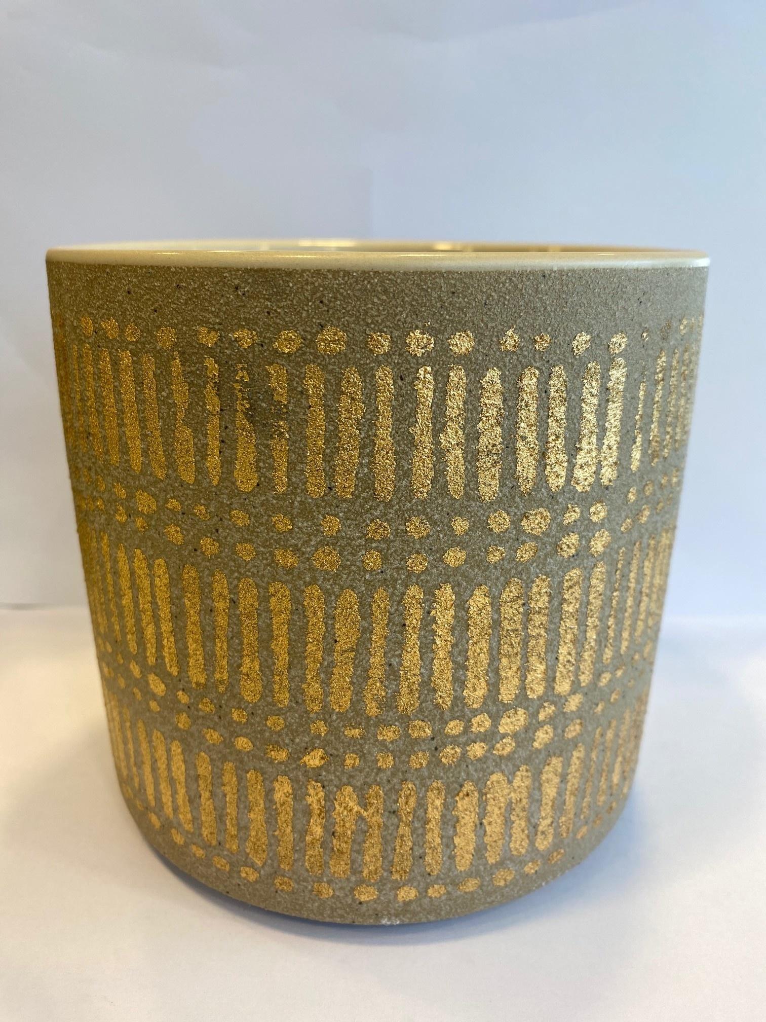 Bloempot Gouden Details - Medium-1
