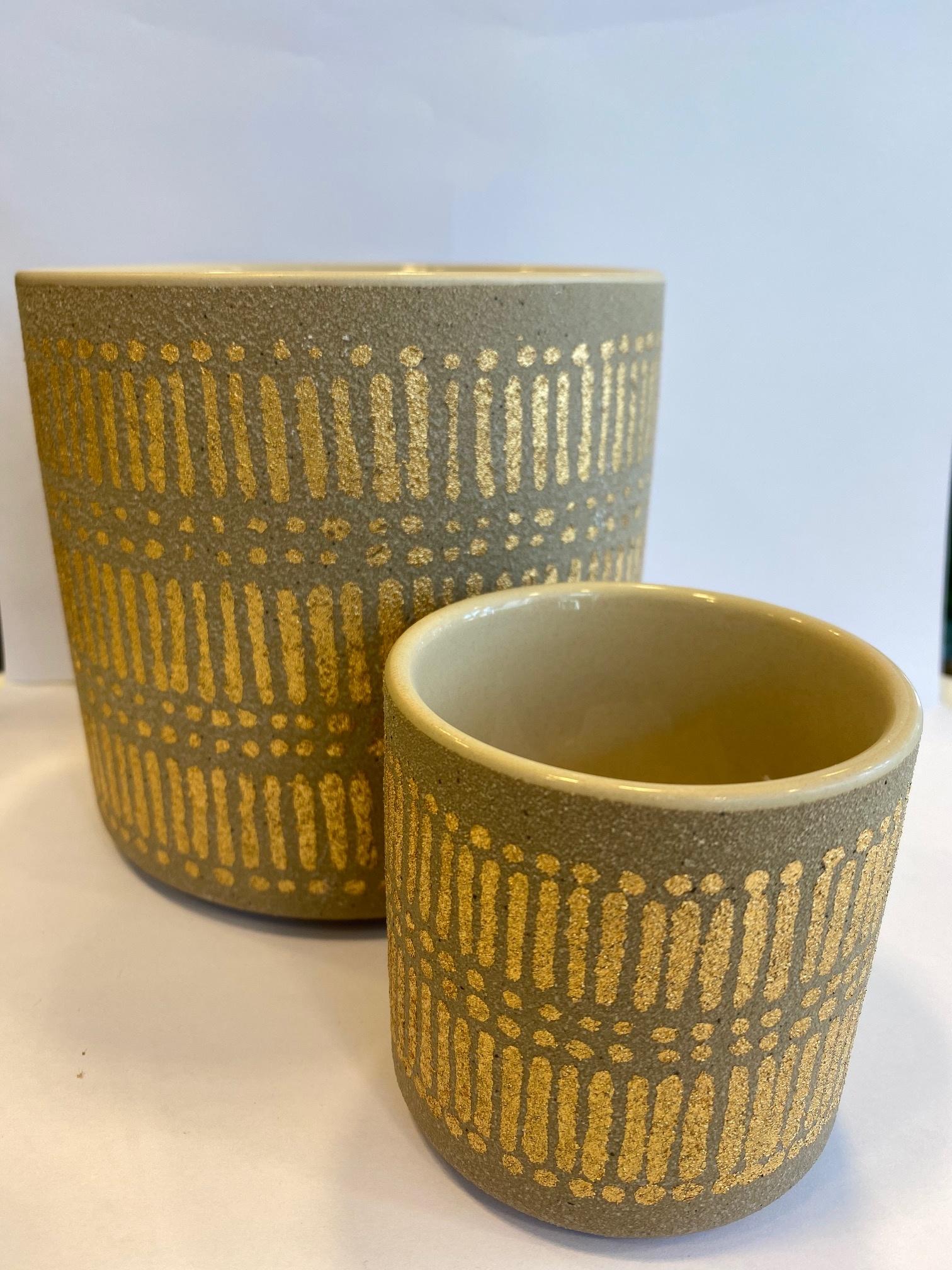 Bloempot Gouden Details - Small-2