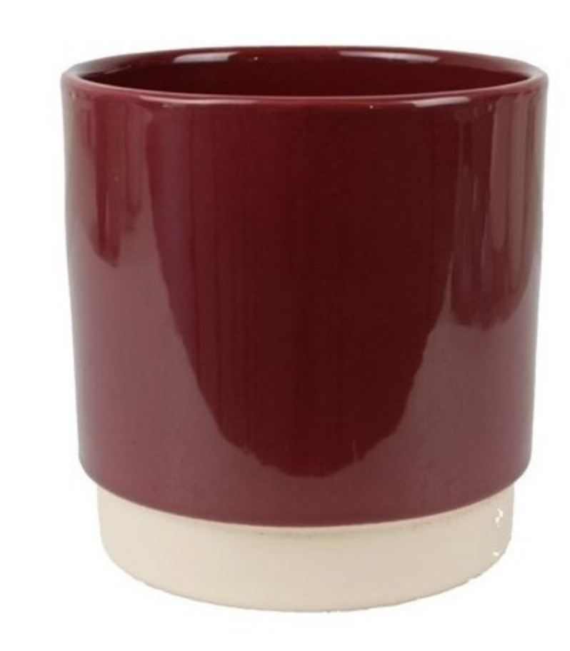 Bloempot  Bordeaux - Medium-1